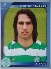 PANINI 212 Georgios Samaras Celtic FC UEFA CL 2008/09