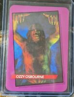 1985 AGI Rock Star Concert Cards 1st series - Ozzy Osbourne