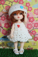Knitting Dress for Lati Yellow/ PukiFee BJD