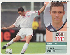 LAURENT WUILLOT # BELGIQUE AC.AJACCIO VIGNETTE STICKER  PANINI FOOT 2003 ~