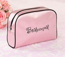 Bridesmaid Pink Medium Travel Bag Bridesmaids Gift Wedding Makeup