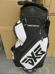 PXG Black/White CART Bag + Raincover