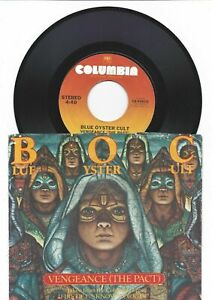 Blue Oyster Cult 45 RPM 1979 Hard Rock YOU PICK Billboard Hits Jukebox Record