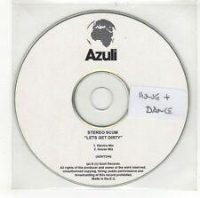 (GI748) Stereo Scum, Lets Get Dirty - DJ CD