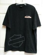 Southside Harley-Davidson Virginia Beach VA  Size XL Black T-shirt Bar & Shield