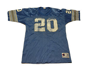 Vintage Barry Sanders Detroit Lions Champion Jersey Size 48 NFL Football