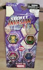 MARVEL MINIMATES SECRET INVASION Beast Wolverine Phoenix Jewel Skrull NEW IN BOX