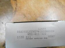 Brady WMS-411-322 BradySleeve Brady Sleeve Wire Marker
