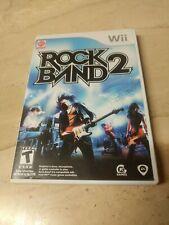 Rock Band 2 Nintendo Wii MTV Games