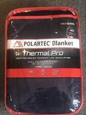 Polartec Berkshire Blanket Thermal Pro Midnight Blue Full Queen New