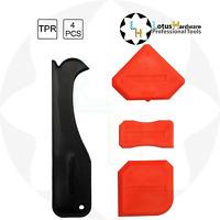 Silicone Sealant Spreader Finishing Tool Kit + Caulk Remover 4pcs Yato YT-5262