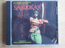"""Colonna sonora O.S.T. CD """"Sandokan"""" GUIDO E MAURIZIO DE ANGELIS # OLIVER ONIONS"""