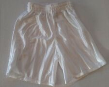 High 5 Brand, Youth Basketball shorts,White, Youth Small, 100% Polyester Dazzle