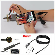 8mm 5M Tube 6LED HD USB Endoscope Car SUV Borescope Inspection Camera Waterproof