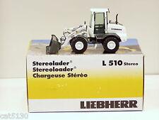 "Liebherr 510 Loader - ""WHITE"" - 1/50 - NZG #542.03 - MIB"
