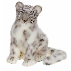 "Hansa Snow Leopard Cub, 17"" Stuffed Animal Plush Toy #4355"