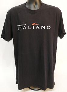 Concorso Italiano Italian Car Show Monterey Men's Size L Black T-Shirt