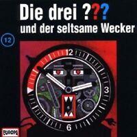 """DIE DREI ??? """"UND DER SELTSAME WECKER (FOLGE 12)"""" CD HÖRBUCH NEUWARE"""
