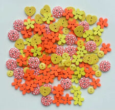Unbranded Assorted Cardmaking & Scrapbooking Buttons