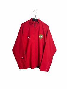 Morocco Puma Track Jacket Staff Issue Football Soccer Mens XL