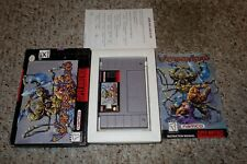 WeaponLord (Super Nintendo Entertainment System SNES) Complete w/ Reg GOOD