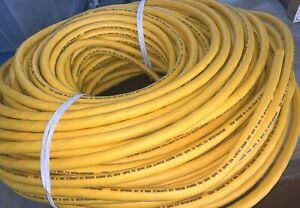 250 Foot Boxed Coil - Coleman Cable 12/3 SEOOW SEOPRENE - Yellow