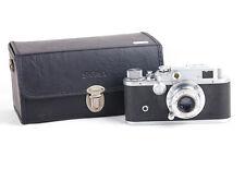 Ex+ Shanghai 上海 58-II Film Camera Body + 50mm f/3.5 Lens w/Sigma Leather Case