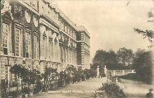 Postcard London Hampton Court Palace South Front posted 1912