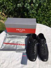 PRADA Herren Sneaker NEU Gr.43(8,5) NP 599,-€ LUXUS schwarz aus Hamburg