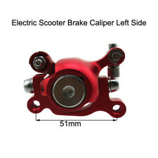 Red Left Side Brake Caliper For Chinese E-scooter Electric Scooter