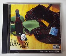The Bawdy Boys Bawdy By Nature EP CD Irish Celtic Drinking Songs Detroit RARE