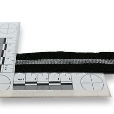 elastisches Gummiband - Gummiband - Hosenband - 2,5 cm - schwarz