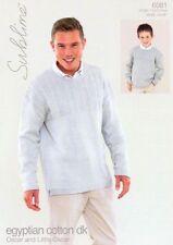 Men's Cotton Sweaters Patterns