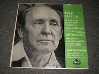 Roy Harris~Fantasy For Piano and Orchestra~Johana Harris~Nell Tangeman~RARE