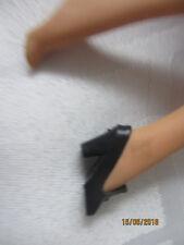 einzelschuh taiwan schwarz für barbie
