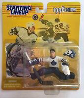 FELIX POTVIN - Toronto Maple Leafs - Starting Lineup NHL SLU 1998 Figure & Card