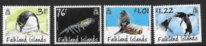 FALKLAND ISLANDS SG1397/1400 2018 PENGUINS PREDATORS & PREY  MNH