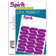 10x new Tattoo Spirit transfer paper sheets