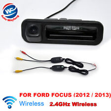 WIRELESS CAR REAR VIEW BACKUP CAMERA FOR FORD FOCUS (2012 / 2013) HD CCD