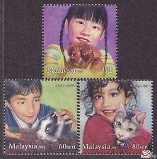 [SS] Malaysia 2011 Children's Pets STAMP SET