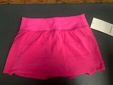 Lululemon PACE RIVAL SKIRT Sonic pink SZ 4 NWT