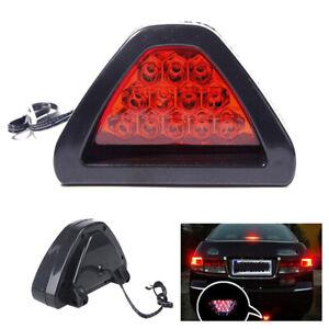 F1 Style Car DRL LED Tail Stop Fog Brake Flash Strobe Light Lamp  Truck ABS UK