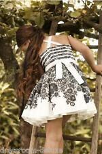 Nuevo Jottum Sarcelles cóctel vestido vestido 110 4-5y PVP 145 € dress robe s15 blanco