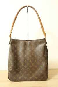Authentic Louis Vuitton Monogram Looping GM Shoulder Bag #7535