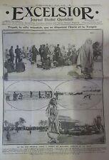 LIBAN TRIPOLI VILLE MARCHE GUERRE SOLDATS TURCS GARNISON EXCELSIOR SEPT 1911