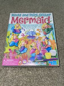 Kids Crafts - Mould And Paint - Mermaid Theme Age 5 And Over *NEW*