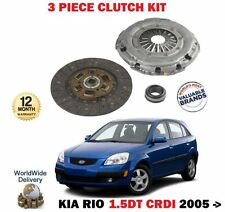 FOR KIA RIO 1.5DT CRDI 16v 110BHP 2005 > NEW CLUTCH PLATE COVER BEARING KIT