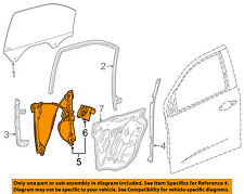 GM OEM Front Door-Window Lift Regulator 23287459