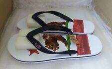 Mens Hollister Flip Flops - XL - UK 11/12 - RRP £20