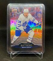 2020-21 Upper Deck Tim Hortons Collector's Series Auston Matthews Base Card #34